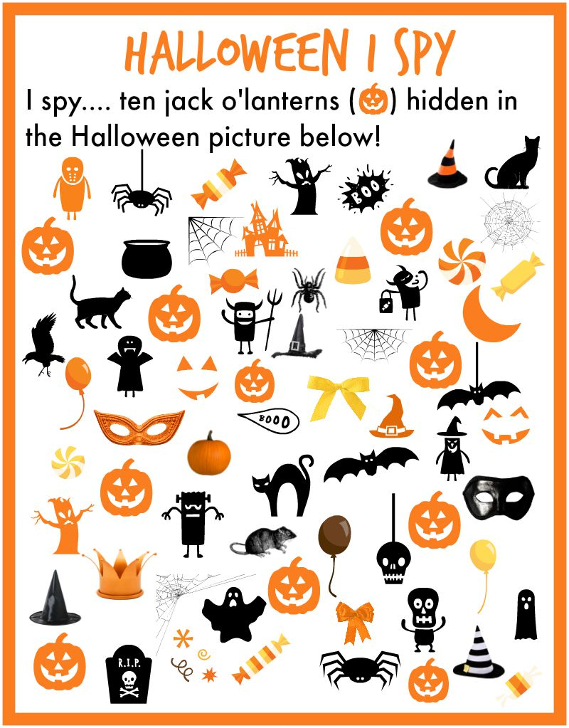 Dynamic image pertaining to halloween printable crafts