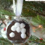Hot Chocolate Ball: A Kid Made Ornament