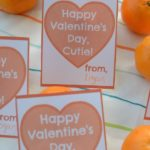 Give Valentines Day cards out to your favorite cuties! A free printable Cuties Valentine to use!