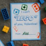 The perfect Valentine for LEGO lovers to give - and make! Printable LEGO Valentine cards!