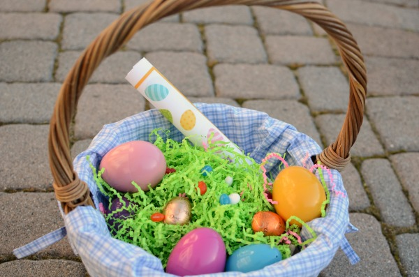 Fun Easter basket fillers - eggs and an I Spy Game!