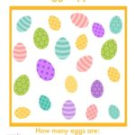 Printable Easter I Spy Game - find different colored eggs! {free printable!}