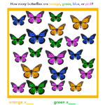 I Spy Butterfly game to download and print!