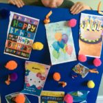 Fun birthday activity - make a HUGE birthday card!