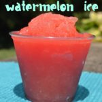 Kid-friendly Watermelon Ice Recipe