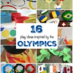 Play along with the Olympics! 16 crafts, games, and activities the kids will love!