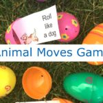 Gross Motor Animal Game -- with a printable of fun animal moves!