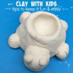 Fun and easy tips for clay projects with kids!