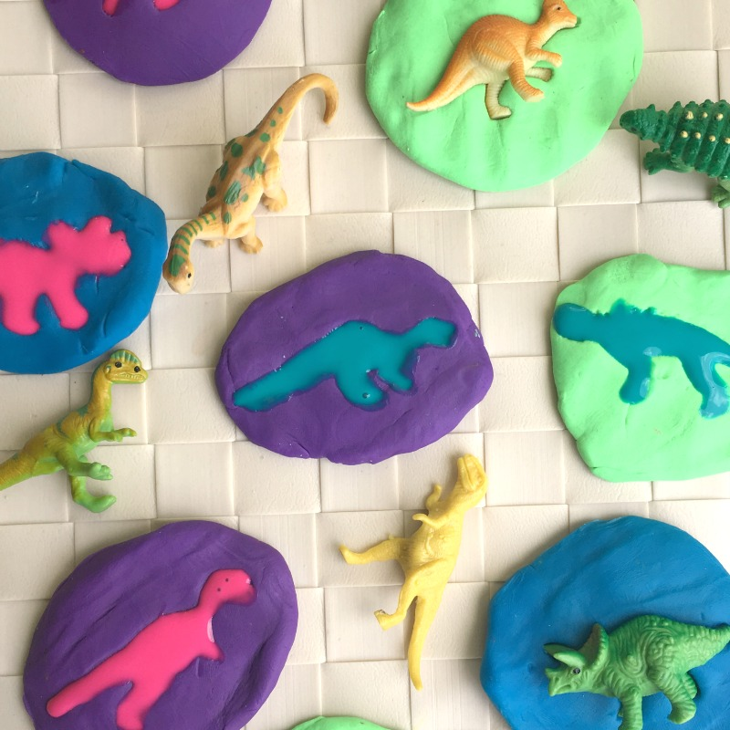 Dino Fossils For Kids on dinosaur activity printables