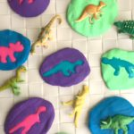 Dinosaur Activity for kids: Make Dinosaur Fossils